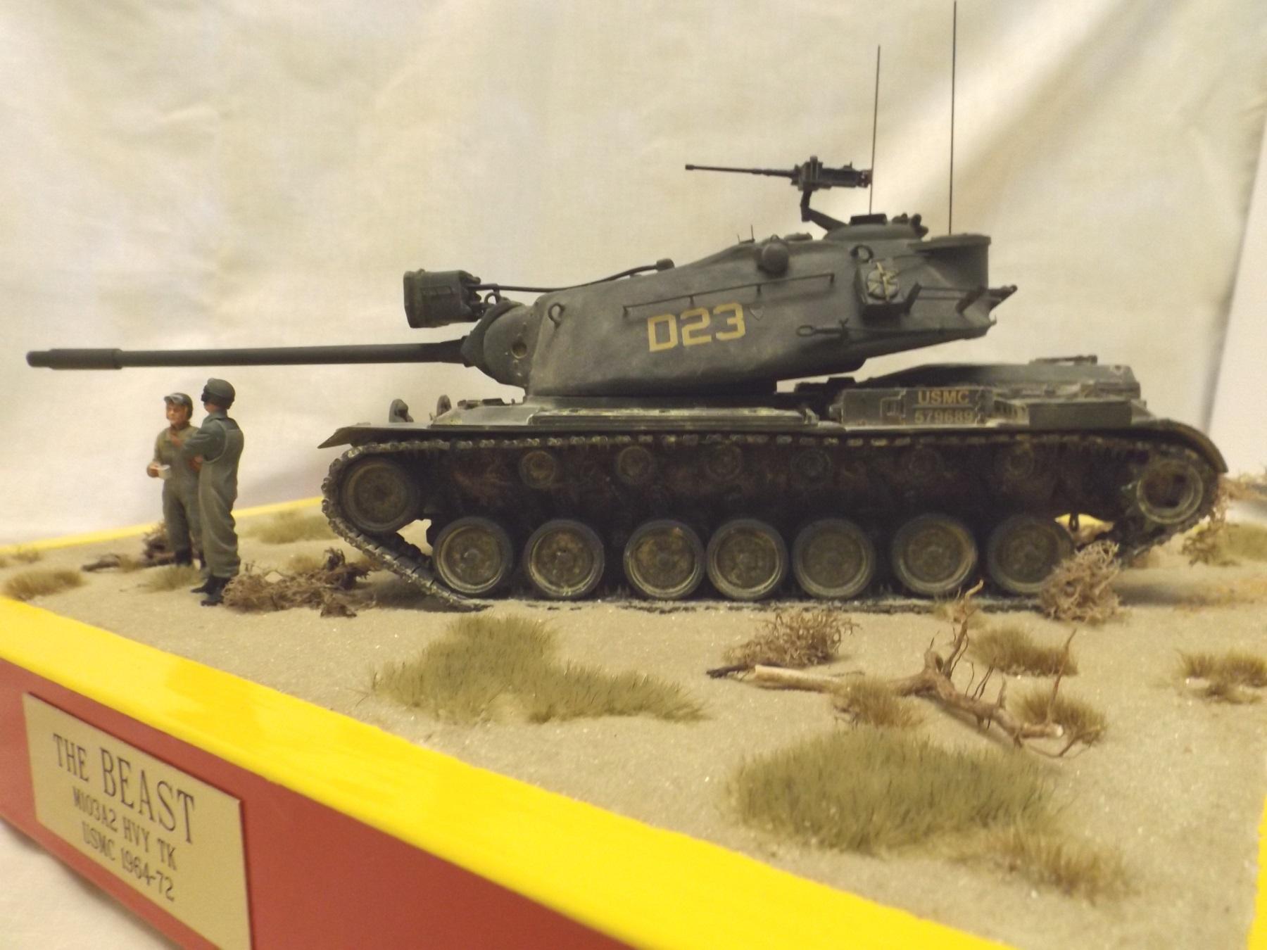 Us M103 Heavy Tank Kit 1 032