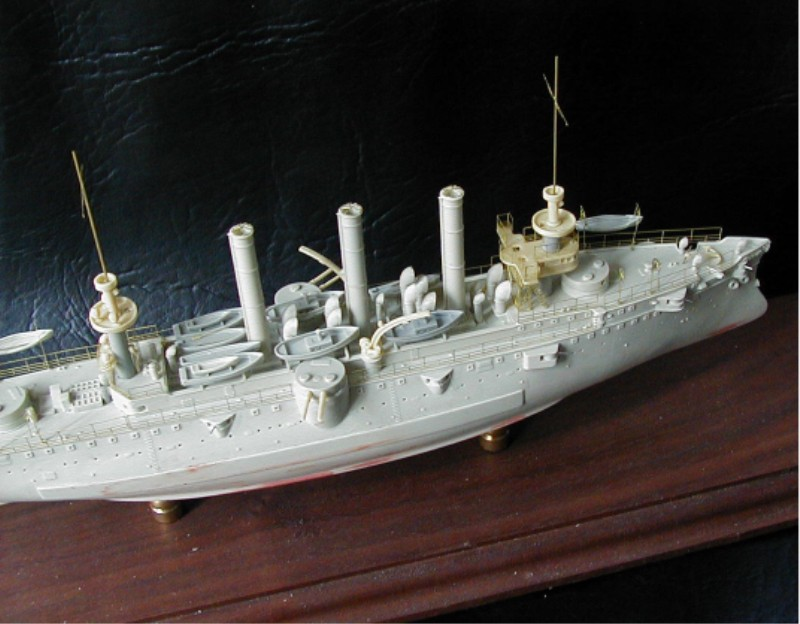 1 2 Scale >> USS Brooklyn ACR-3 Kit #4-128