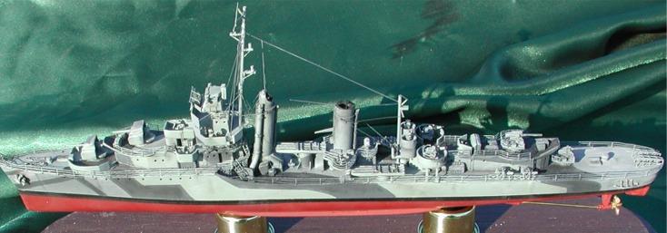 USS Conyngham Kit #4-0...